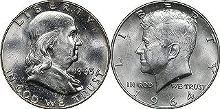 1964 silver half dollar