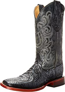 حذاء فيرريني الرجالي الغربي SV المنقوش