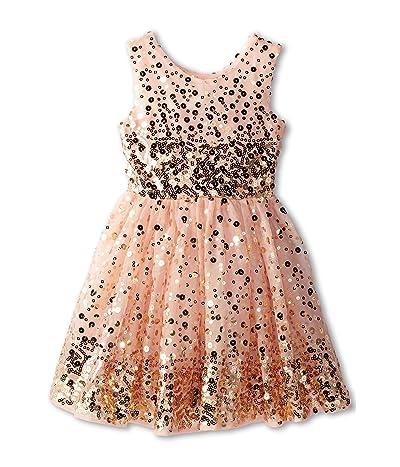 fiveloaves twofish Zoe One Shoulder Knit Dress (Little Kids/Big Kids)