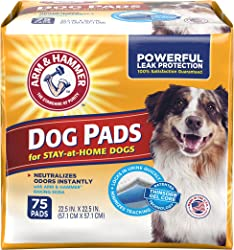 Arm & Hammer Pet Training and Puppy Pads 22.5-inch by 22.5-inch