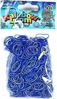 Rainbow Loom Dual Layer Bands, Denim Blue