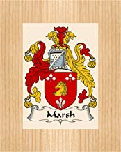 Best Carpe Diem Designs Marsh Coat of Arms/Marsh Family Crest 8X10 Photo Plaque, Wedding/Personalized Gift, Wedding Gift Review