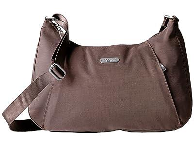 Baggallini Slim Crossbody Hobo (Portobello) Hobo Handbags