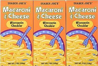 Trader Joe's Macaroni & Cheese Wisconsin Cheddar 7oz, 6 Pack