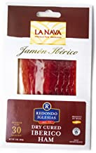Jamon Iberico La Nava - Sliced 2 oz - 30 months aged dry cured ham - Spain Gourmet Delicatessen - 1 unit