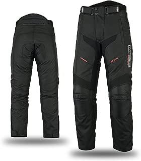 NERVE 1012020404/_06 Pantaloni Antipioggia Easy 2XL Nero