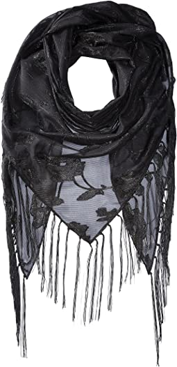 Collection XIIX - Fringe and Florals Triangle