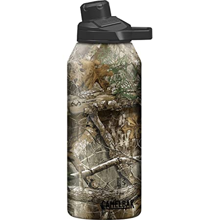 CamelBak Chute Mag Vacuum Stainless Waterbottle, Real Tree Edge, 40 oz