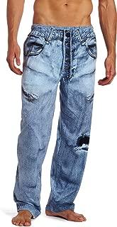 MJC International Men's Generic Faux Denim Pajama Pant