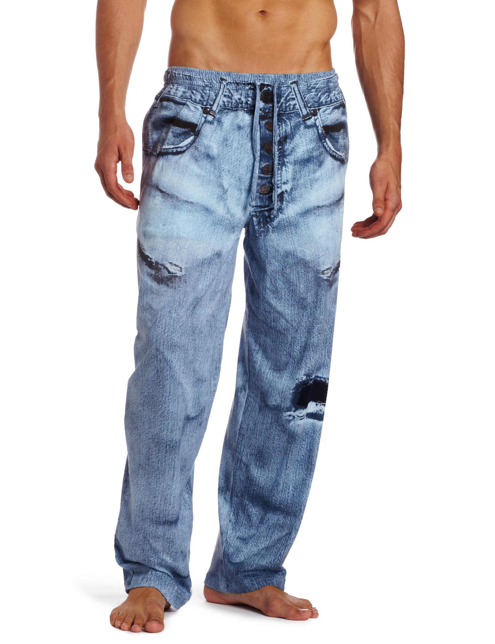 MJC International Generic Denim Pajama