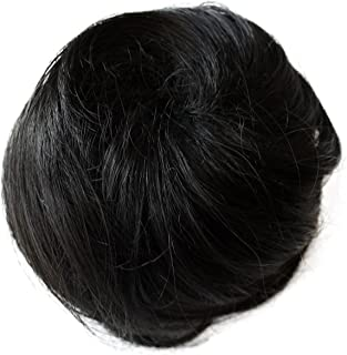 bun with fringe