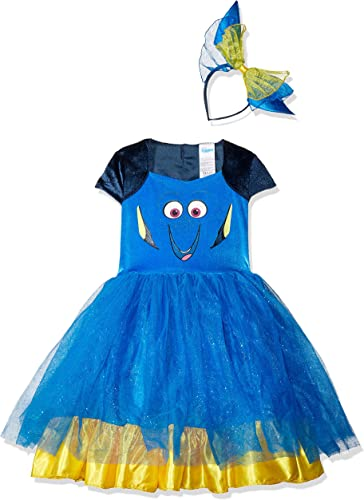 Finding Dory Disney's Dory Toddler Tutu Deluxe Costume Large 4-6