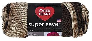 RED HEART Super Saver Yarn, Platoon Camo Print