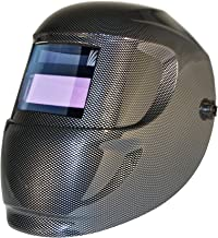 ArcOne 1000F-0110 Carrera Welding Helmet with 1000F Shade Master Filter, Carbon Fiber