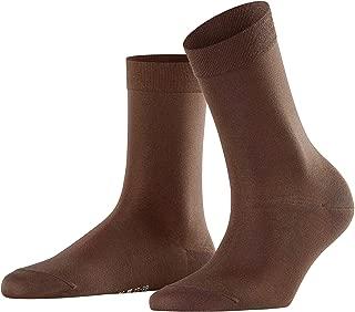 Falke Women's Touch Casual Sock-1 pair-65% Cotton, 32% Polyamide, 3% Elastane, Brown, 35-38 (US 5-7.5)