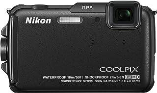 Nikon デジタルカメラ COOLPIX AW110 防水18m 耐衝撃2m カーボンブラック AW110BK