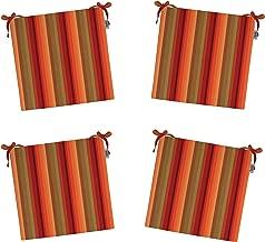 RSH Décor Indoor/Outdoor Sunbrella Astoria Sunset Striped Fabric 2