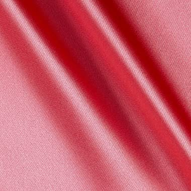 Shannon Fabrics Silky Satin Charmeuse Solid Coral/Kiss Fabric By The Yard