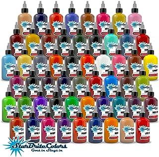 StarBrite Colors Sterilized Tattoo Ink - 55 Color Set 1/2 oz