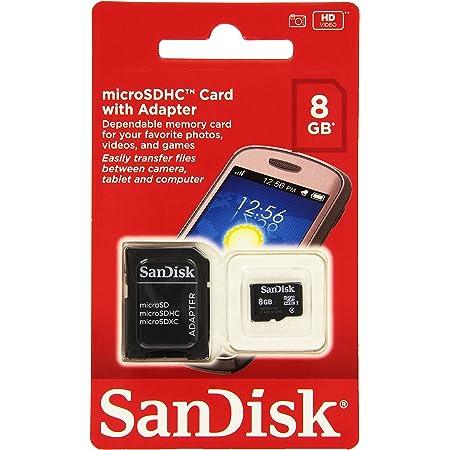 Sandisk Microsdhc 8gb Speicherkarte Computer Zubehör