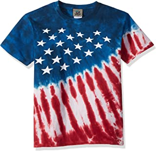 red white and blue t shirts