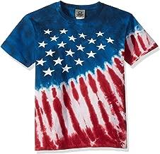Liquid Blue Kids' Patriotic Stars & Stripes Short Sleeve T-Shirt