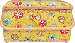 Allary Large Rectangle Sewing Basket, and Patterns (4309)