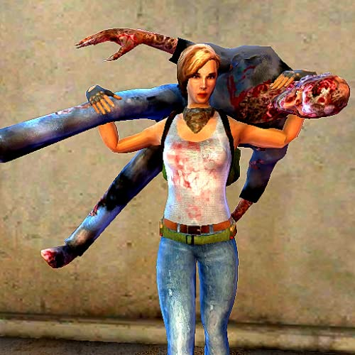 Ultimate Zombie Fight Girl Dead City Survival Hunting 3d Juego Gratis
