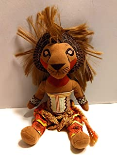 The Broadway Musical Lion Kings Simba Plush Toy by Unknown