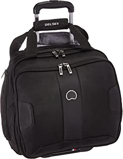 Delsey Paris Luggage Sky Max 2 Wheeled Underseater, Black