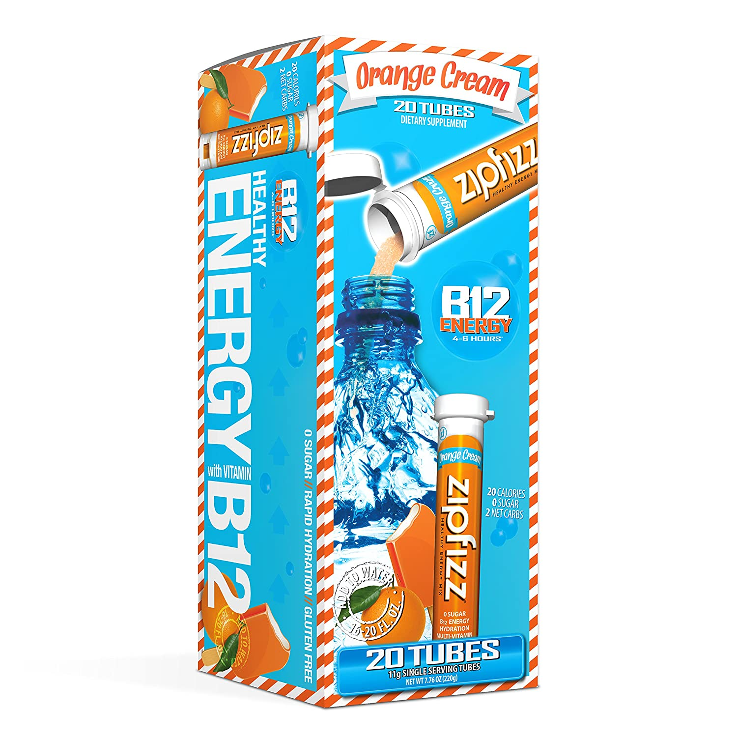 Zipfizz Healthy Energy Drink Mix Hydration Max 85% OFF Vi and Multi with mart B12