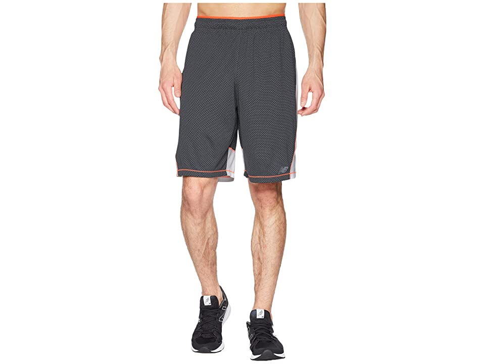 New Balance Tenacity Knit Shorts (Gunmetal) Men