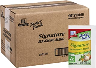McCormick Perfect Pinch Signature Seasoning Blend Packets, 0.02 oz (500 count)