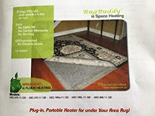 Speedheat FootBuddy 065w under Rug Foot Warmer, 22