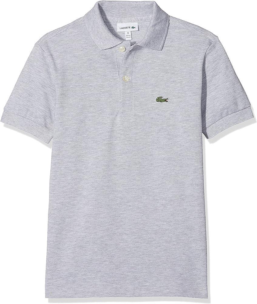 Lacoste polo , maglietta per  bambino/ ragazzo a maniche corte , da 1 anno ai 16 anni , 100% cotone PJ2909A