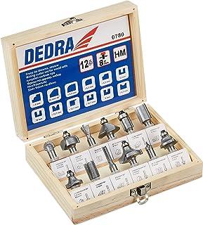 Dedra 780 Strawberry Kit with Sintered Carbides 12 pcs Dedra