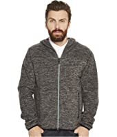 Original Penguin - Zip Front Heathered Fleece Jacket