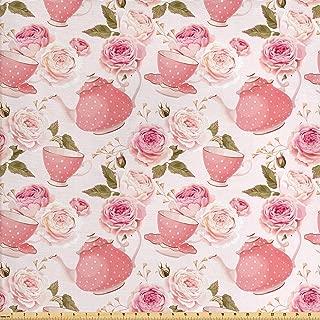 tea rose fabric