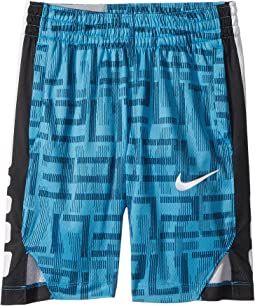 Nike Kids Dry Elite Stripe Print Basketball Short (Little Kids/Big Kids)