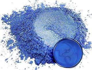 "Mica Powder Pigment ""Ajisai Blue"" (25g) Multipurpose DIY Arts and Crafts Additive | Woodworking, Epoxy, Resin, Natural Bat..."