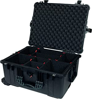 CVPKG Presents Black Pelican 1610 case, with TrekPak Divider System & 2 TSA Locks.