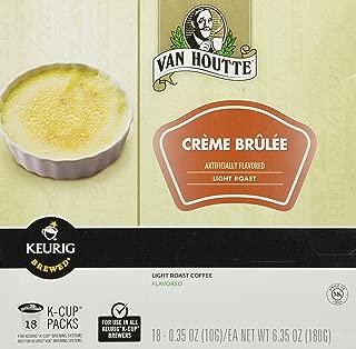Van Houtte Crème Brulee Coffee Keurig K-Cups, 18 Count