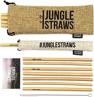 Jungle Straws | Reusable Bamboo Drinking Straws 8