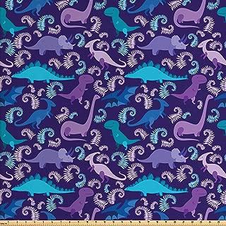 dinosaur fabric by the yard