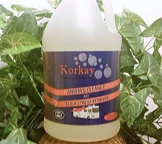Awning Cleaner and Black Streak Remover 1 Gallon Bottle