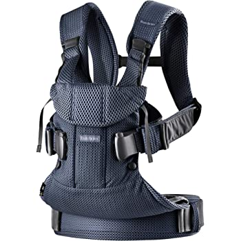 BabyBjörn  Baby Carrier One Air, 3D Mesh, Navy Blue, One Size