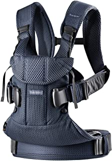 Babybjörn New Baby Carrier One Air 2019 Edition, Mesh, Navy Blue