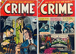 Crime and Justice Issues 17 & 19. You can't get away with murder. (Golden age crime and justice comics Book 7)