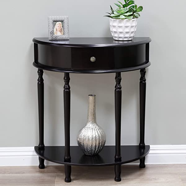 Frenchi Home Furnishing End Table Side Table Espresso Finish