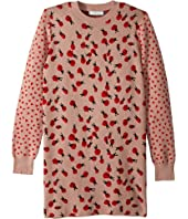 Stella McCartney Kids - Rita Ladybug Long Sleeve Sweater Dress (Toddler/Little Kids/Big Kids)